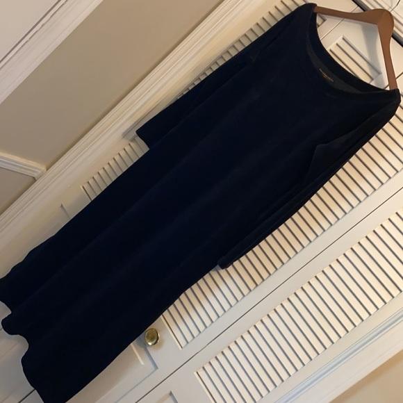 {VTG} Donna Karan Intimates Velour House Dress